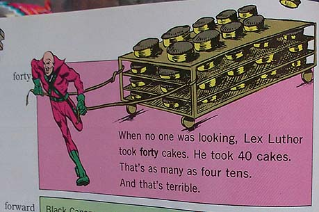 Lex Luthor Stole  Cakes And That S Terrible